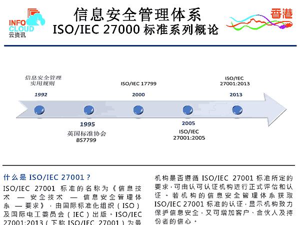 信息安全管理体系 ISO/IEC 27000 标准系列概论 (PDF)